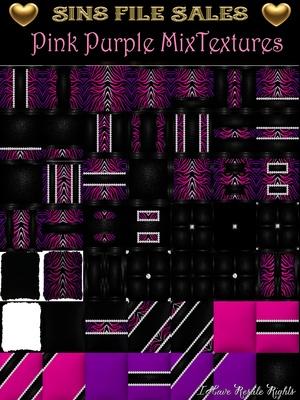 Wild Glitter Pink-Purple Texture Pack