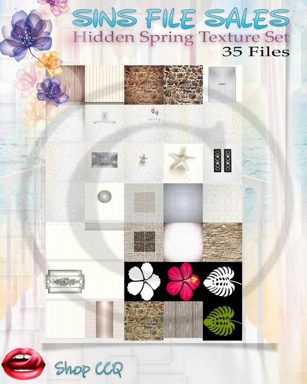 •Hidden Spring Texture Pack•