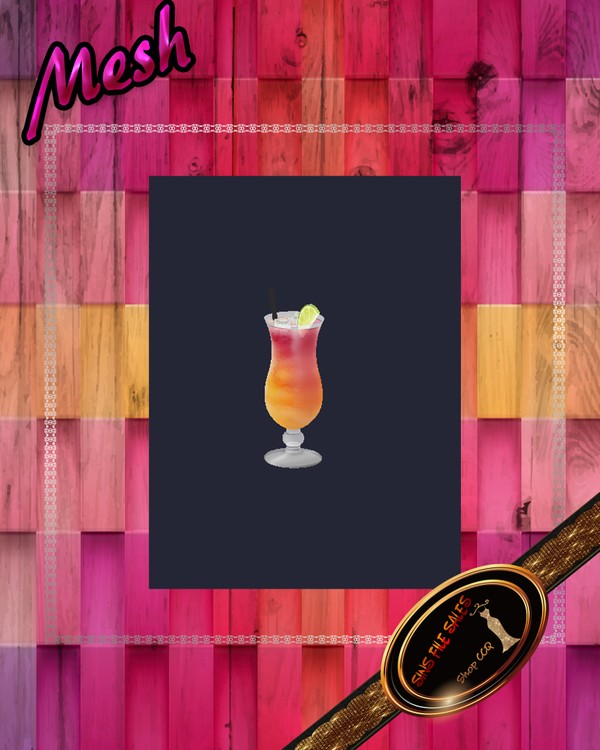 •Cocktail Drink Mesh•CHKN