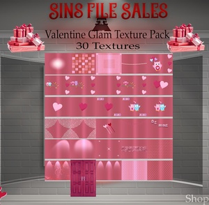 Valentine♥Glam Texture Pack