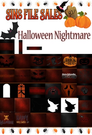 Halloween Nightmare Textures