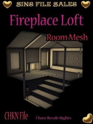 Fireplace Loft Mesh