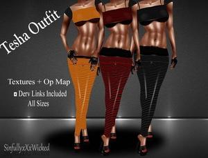 Tesha Outfits