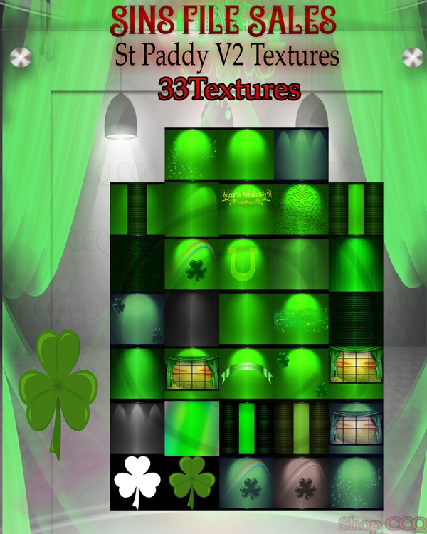 🍀 St Paddy Textures V2 🍀