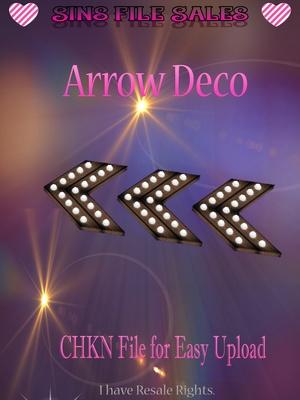 Arrow Deco Mesh