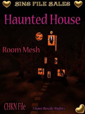 Haunted House Room Mesh