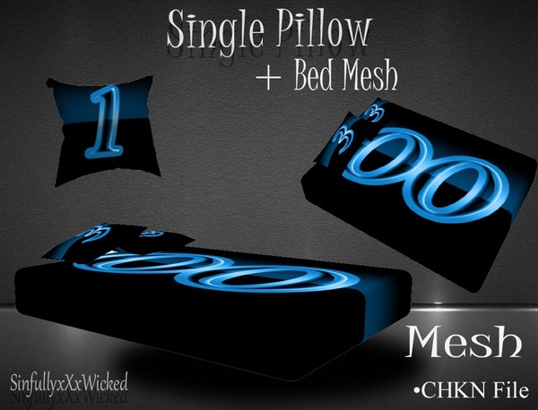 Bed + Bonus PIllow Mesh
