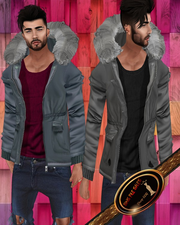 •Mens Fur Coat Set•