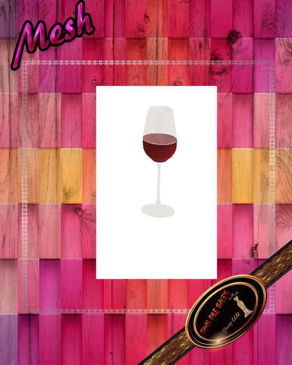•Wine Glass Mesh•CHKN