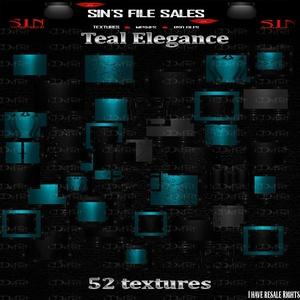 Teal Elegance Texture Pack