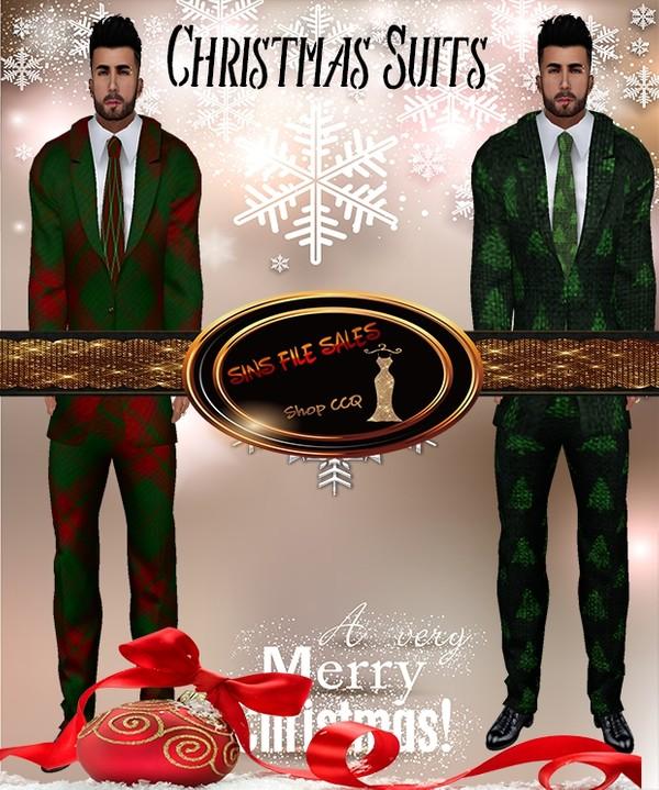 •Mens Christmas Suit Set•