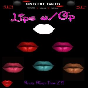 Lips + Op