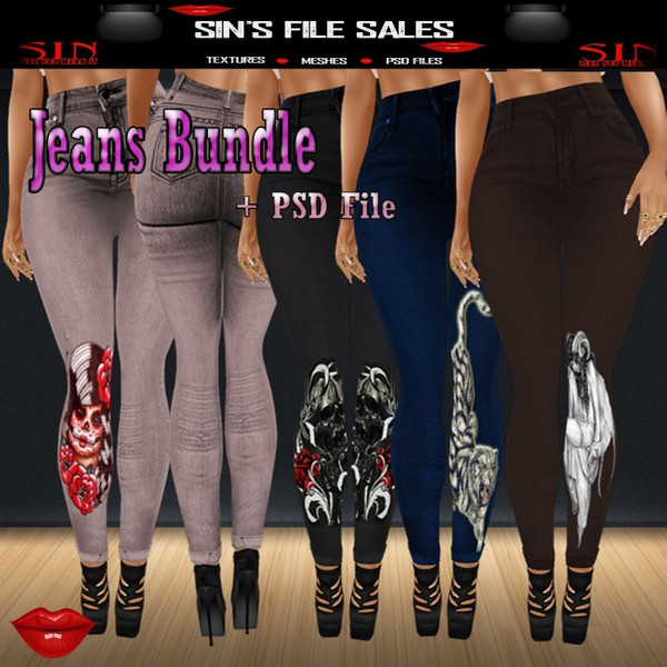 Jeans Bundle + PSD
