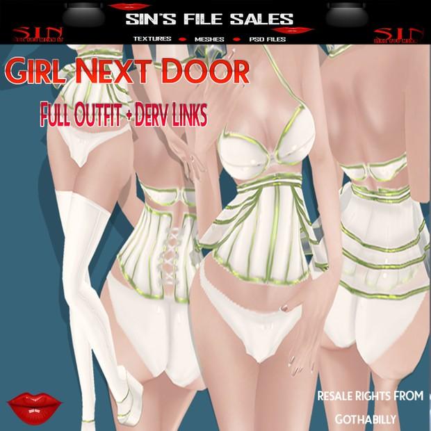 Girl Next Door Outfit Bundle