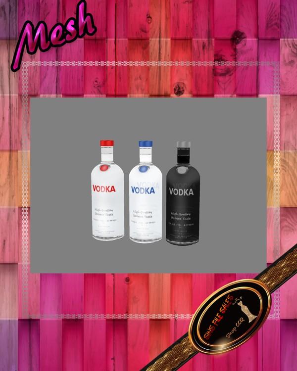 •Drink Bottle Set Mesh•CHKN