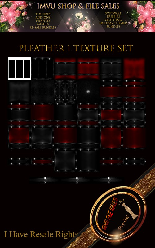 Pleather Texture Pack 1