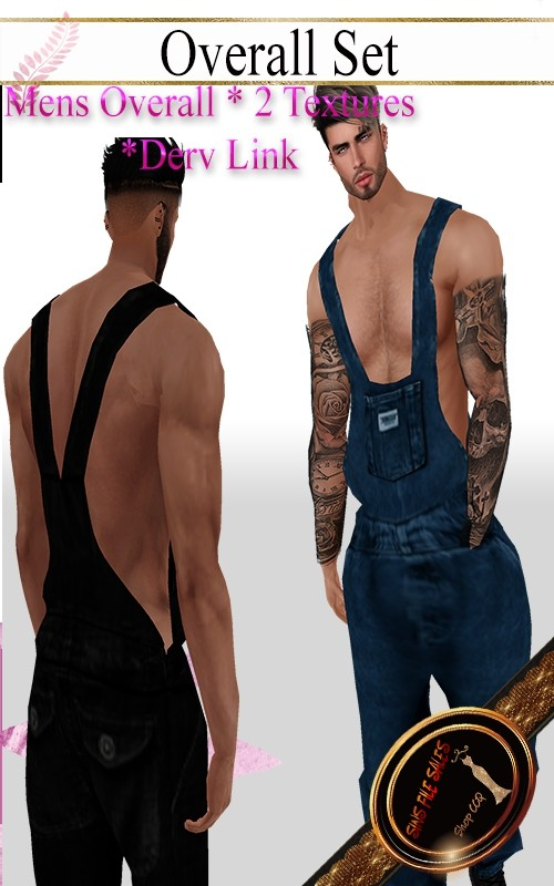 •Mens Overall Set•