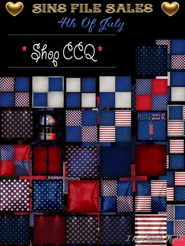 4th Of July Texture Pack