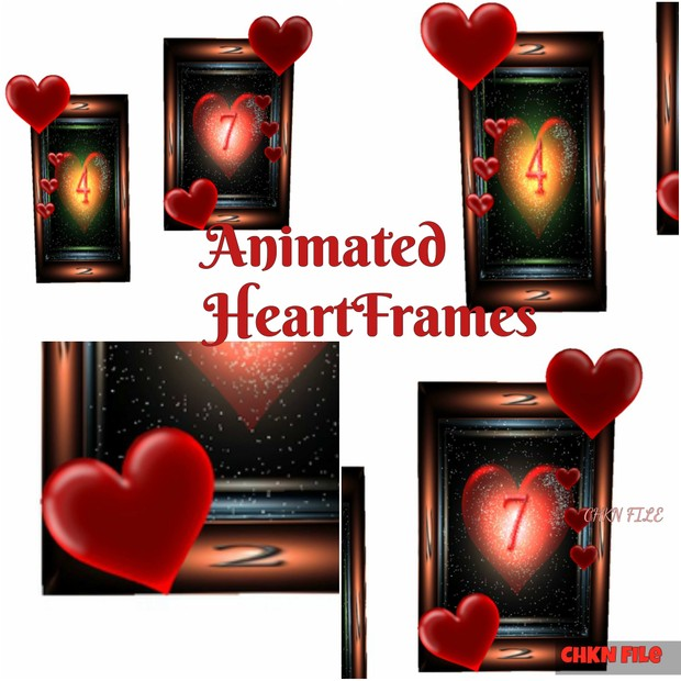 Double Picture Frames Animated