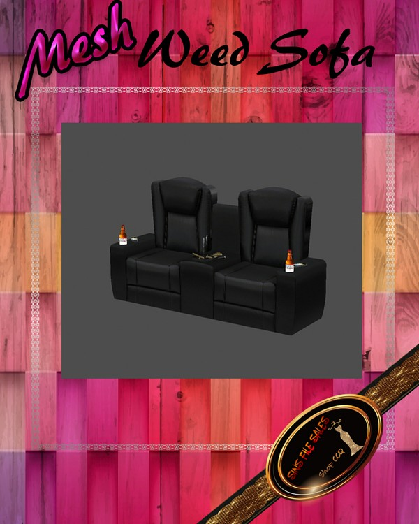 •Leather Dope Couch Mesh•CHKN File