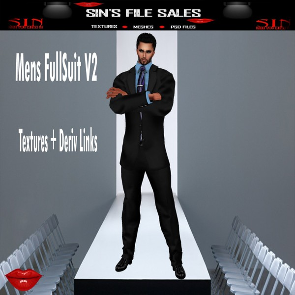 Mens Full Suit V2