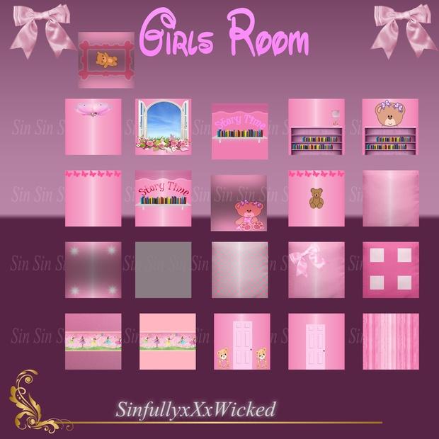 Girls Room Textures