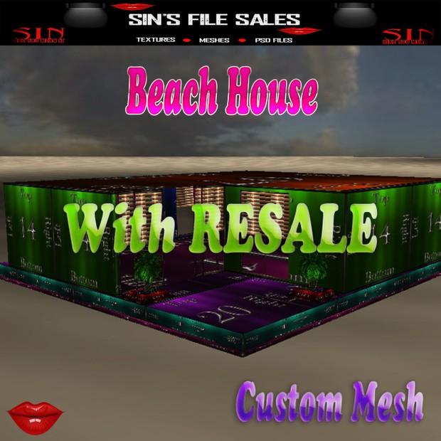 Beach House w/Resale