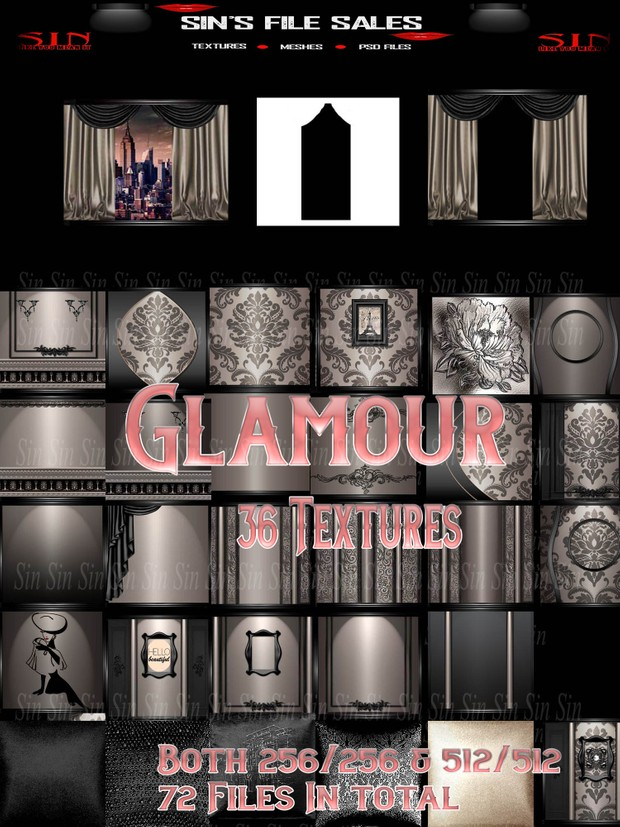 Glamour * 72 files in total