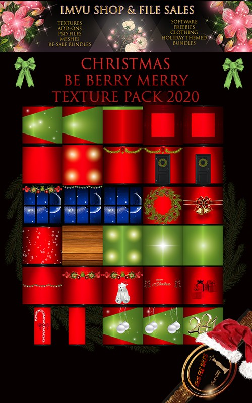 🎅Be Berry Merry Christmas 2020 Textures🎅