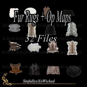 Fur Rugs + Op Maps (32 files)