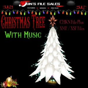 Christmas Tree with Music *Mesh