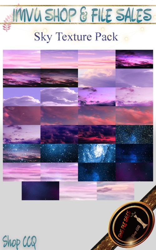 2020 Sky Texture Set- 31 Files
