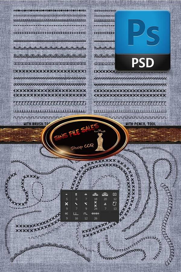 •PSD Brush Set•