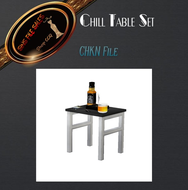 •Chill Table Set Mesh•