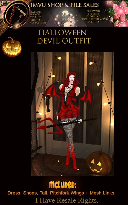 Halloween-Devil Outfit🎃