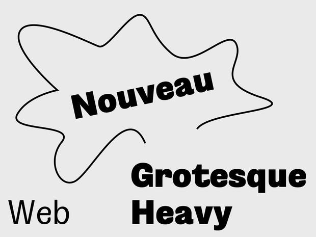 Nouveau Grotesque Heavy Web 10.000 Pageviews