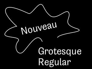 Nouveau Grotesque Regular Desktop 1-3 User