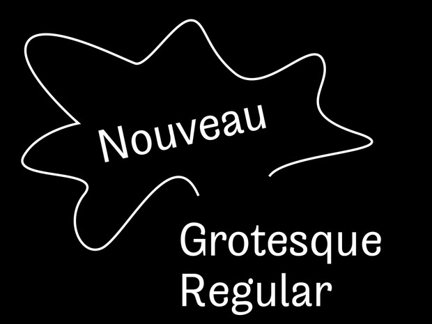 Nouveau Grotesque Regular Desktop 1-3 User