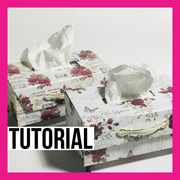 BEAUTIFUL LARGE TISSUE BOX DIGITAL KIT