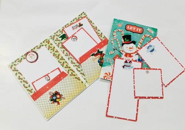 ALTERED CHRISTMAS CARD SUPPLY LIST