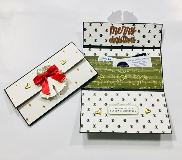 Gift Card Wallet SUPPLY LIST