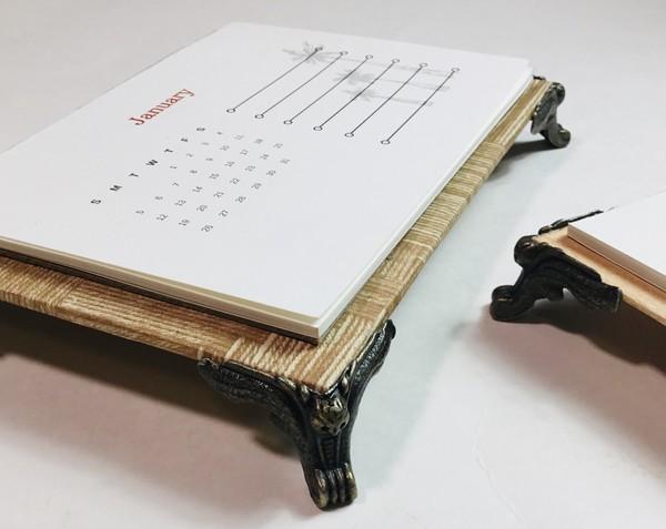 12-Month Masculine Calendar PDF