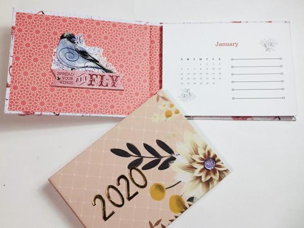 2020 12 Month PDF Calendar ONLY