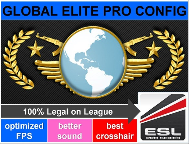 Counter Strike Global Offensive (CS GO) Global Elite/Pro Config/Autoexec  File
