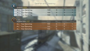 Call of Duty Ghosts - 3v3 Team Ladder GameBattles Fake Proof Template Pack