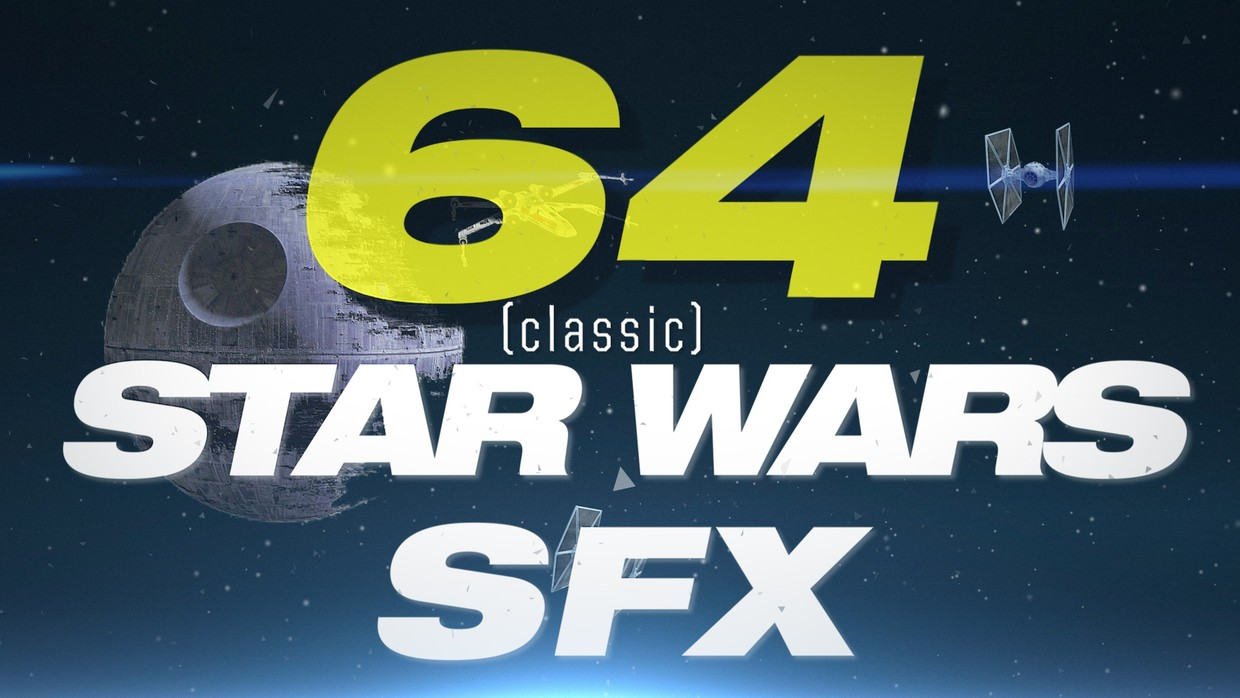 64x Classic STAR WARS Sound Effects Pack 🔊 !! - knowmorefx