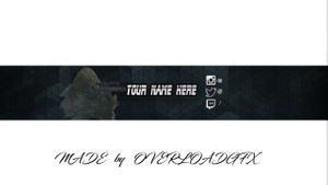 Pre-Made Call of Duty YouTube Channel Art