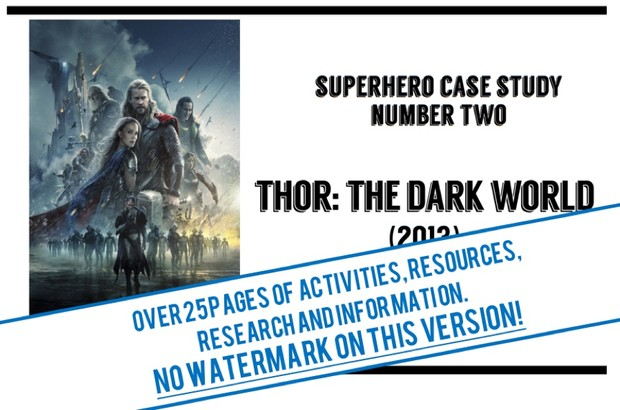 Thor: The Dark World - revision guide and workbook for GCSE Film Studies Paper 1