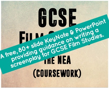 GCSE Film Studies coursework introduction and guide to writing a screenplay for a teen film.