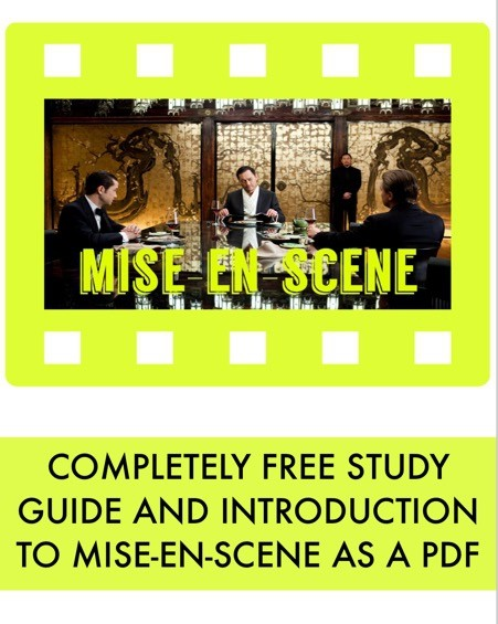 FREE! Mise-En-Scene introduction: a study guide and work book